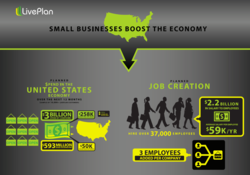 image from LivePlan first annual small business index 2013